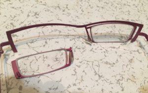 theoのメガネ修理